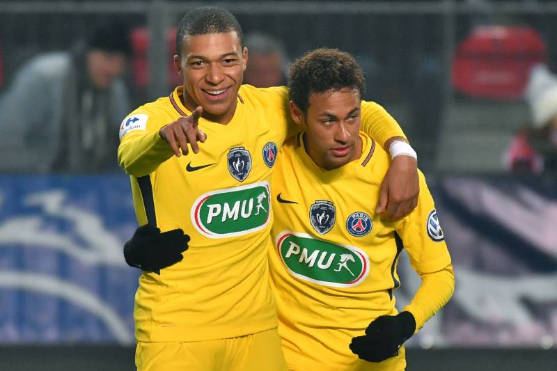 brand new ae596 d489e Neymar Reportedly Wants PSG to Sell Kylian Mbappe to Aid ...