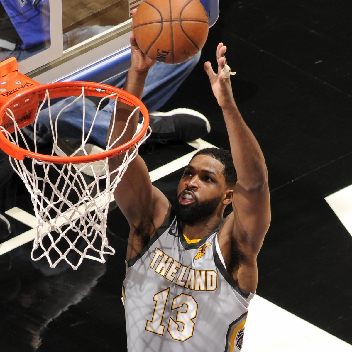 Tristan Thompson's Ankle Injury Diagnosed as Sprain, Will ...