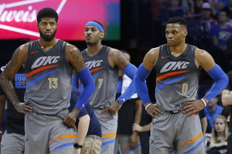 Paul George Says Thunder Big 3 Are 'Officiated Differently' Than