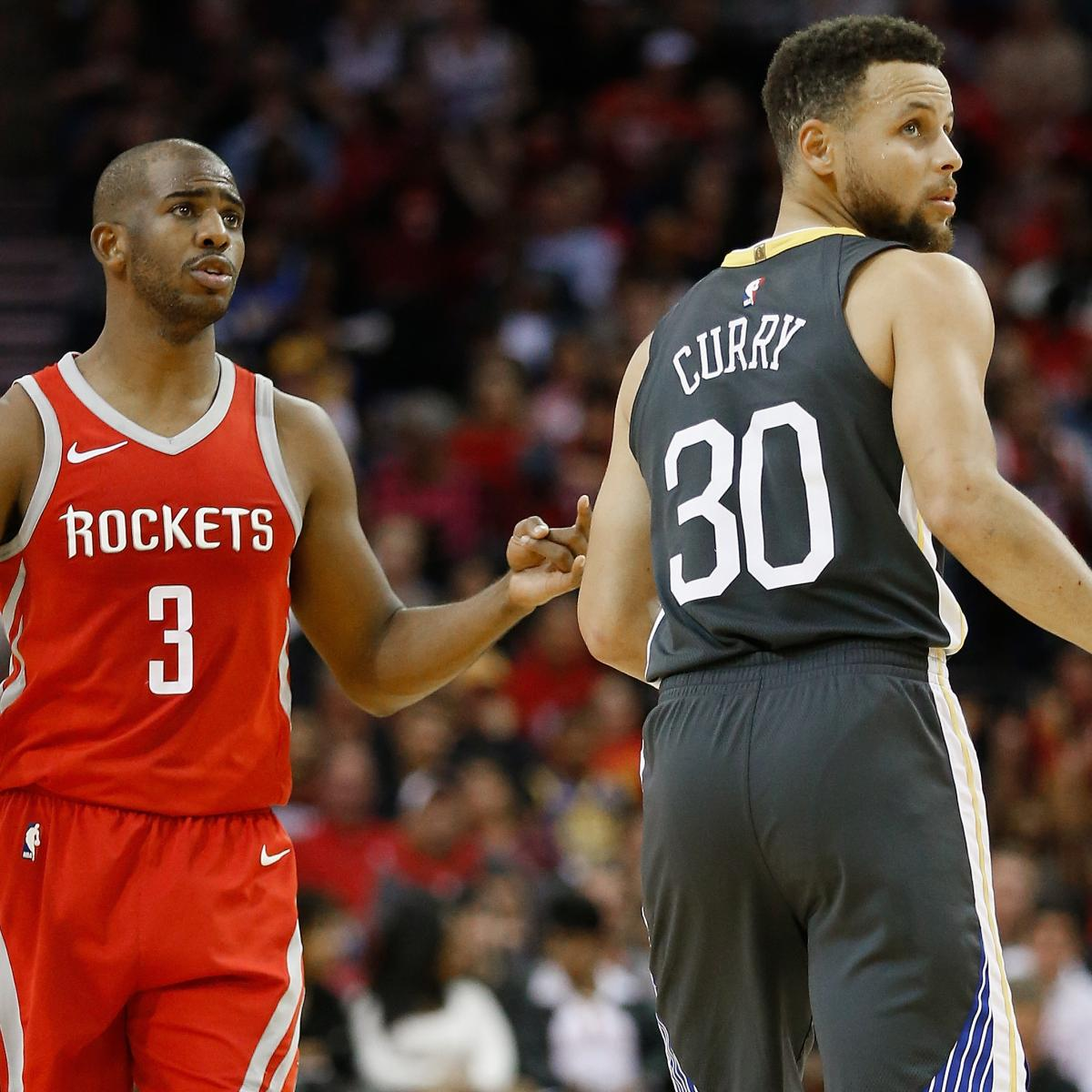 Stephen Curry Says Rockets Are Bigger Threat To Warriors