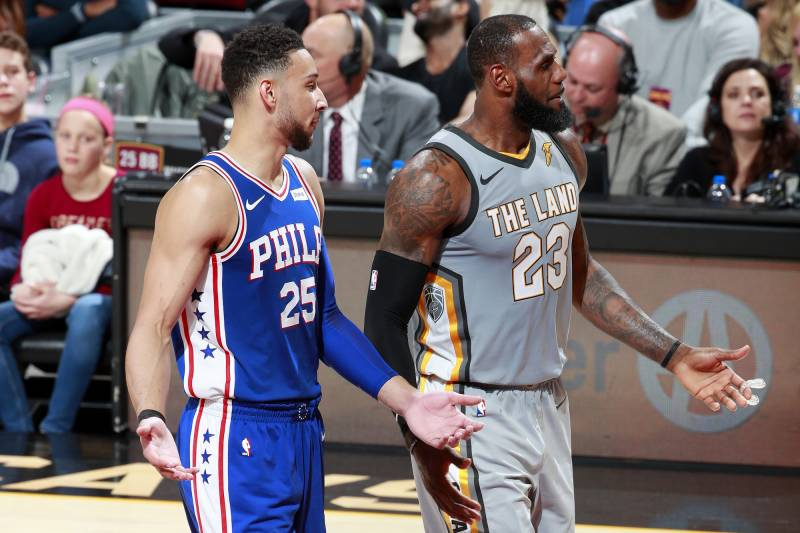 promo code 7d356 c261f LeBron James Touts 'Young King' Ben Simmons on Instagram ...
