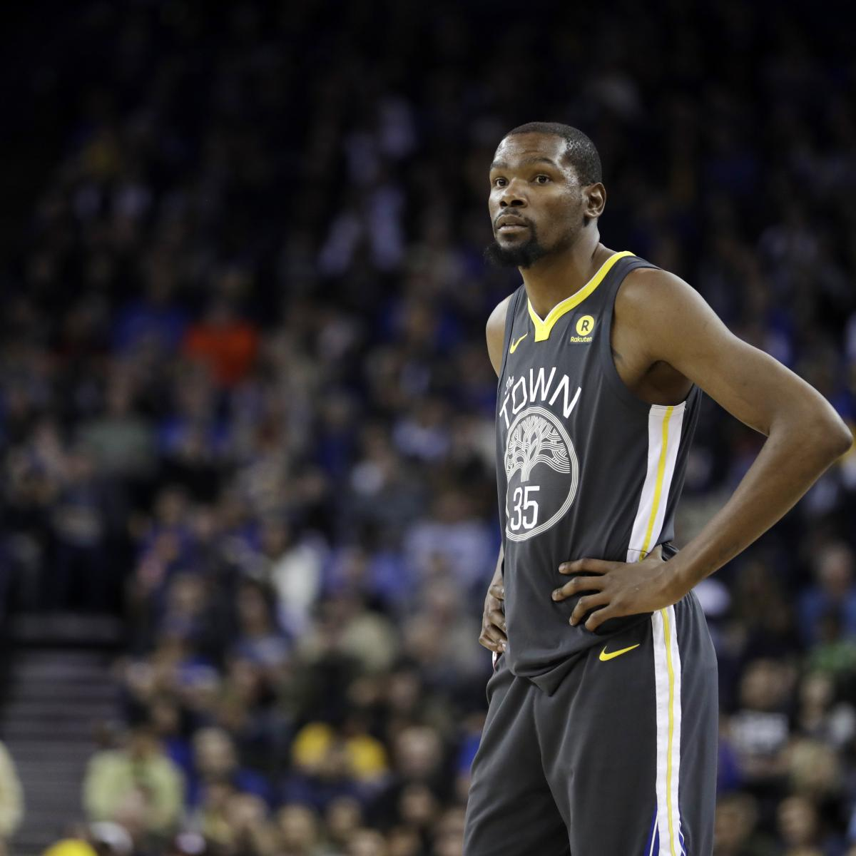 Warriors Come Out To Play Bleacher Report: Kevin Durant Says There Is 100 Percent Chance He Returns