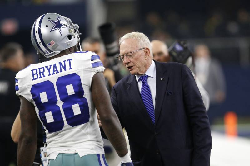 Jerry Jones Expects Dez Bryant To Return To Cowboys Next
