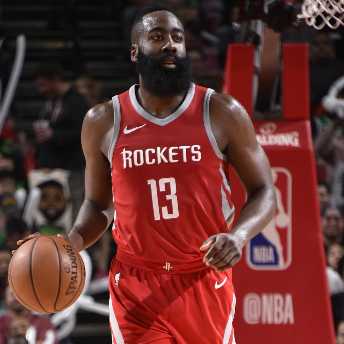 Houston Rockets Game Log: James Harden, Rockets Outlast Celtics; Kyrie Irving Held