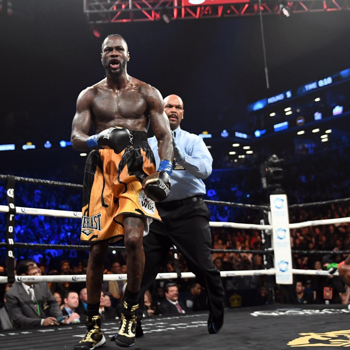 Deontay Wilder Beats Luis Ortiz Via 10th-Round TKO To Stay