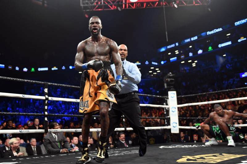 7839947cf351 Deontay Wilder Beats Luis Ortiz Via 10th-Round TKO to Stay Undefeated