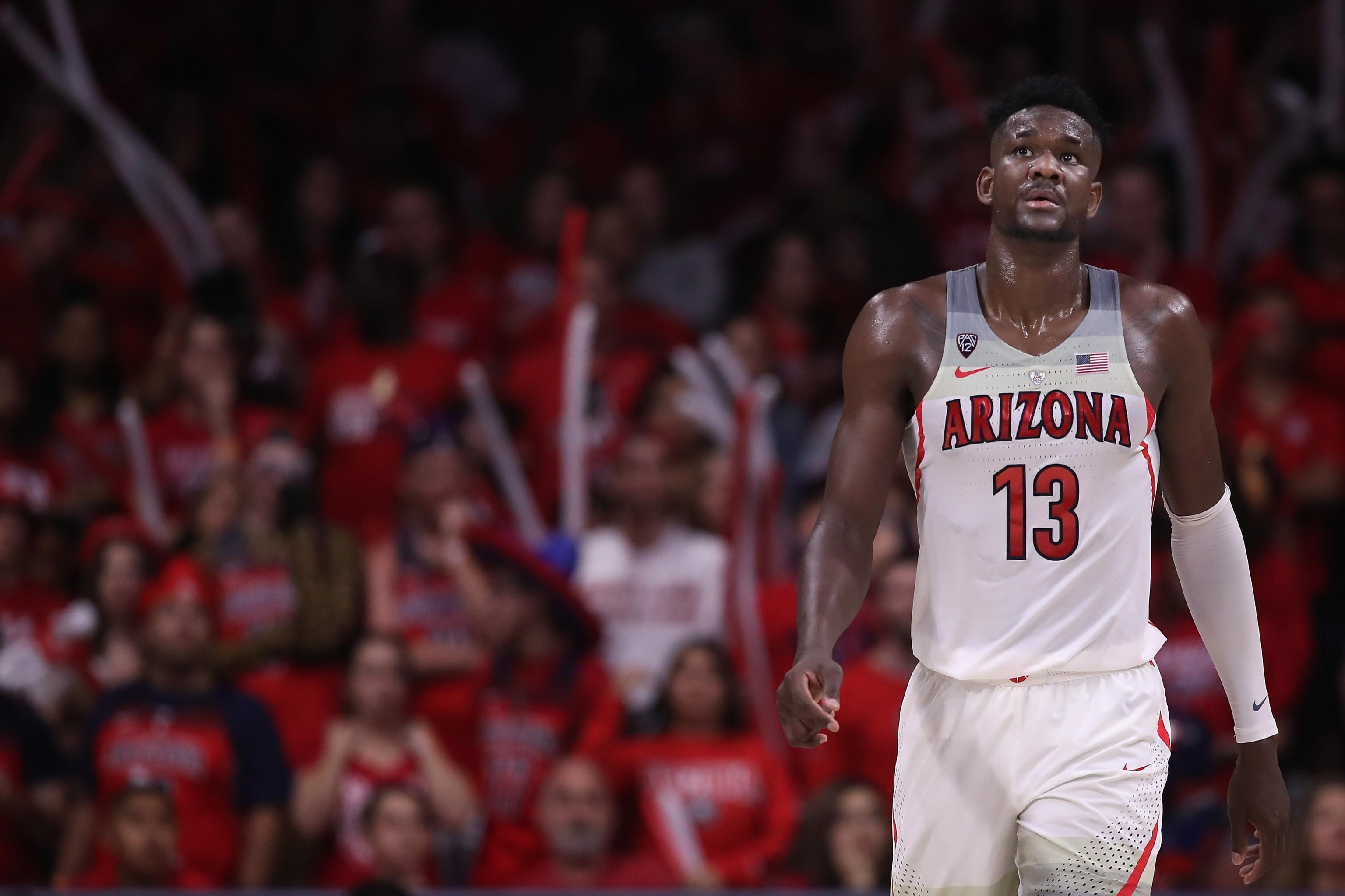 official photos 5ab20 96d02 How Arizona's Deandre Ayton Can Lock Up the No. 1 NBA Draft ...