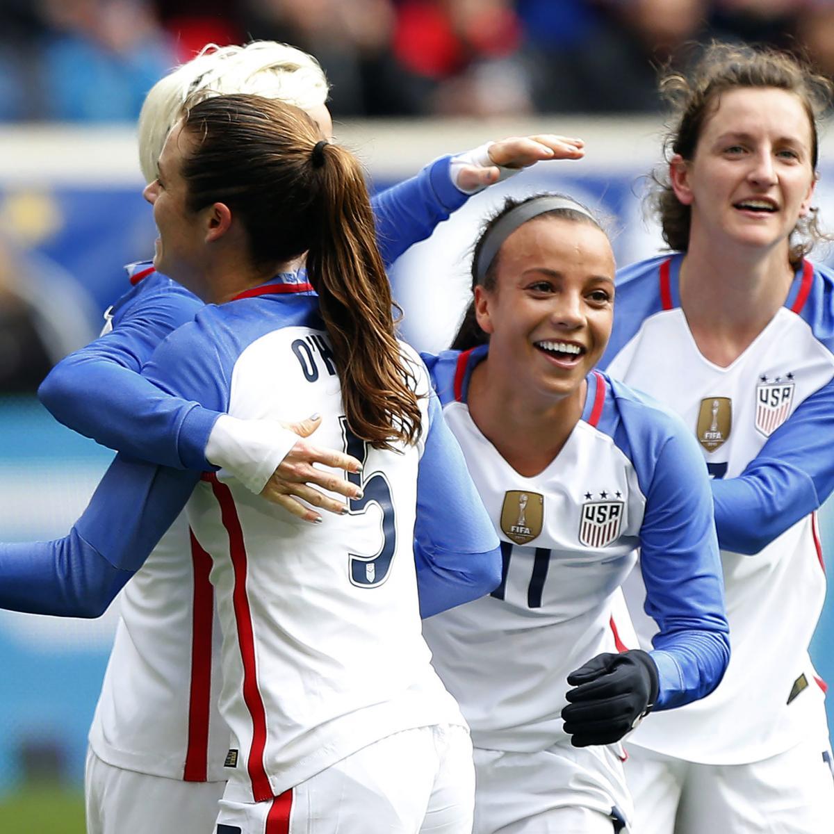USA Vs. England Women's Soccer: Date, Time, Live Stream