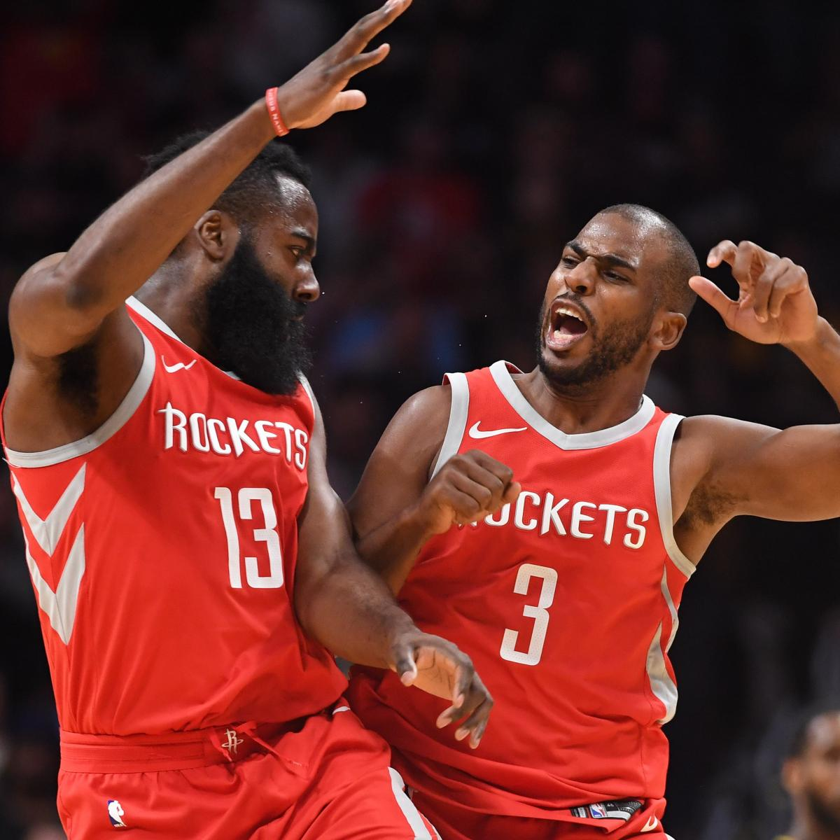 Houston Rockets Record 2018: Forget Everything You've Heard About Chris Paul And James