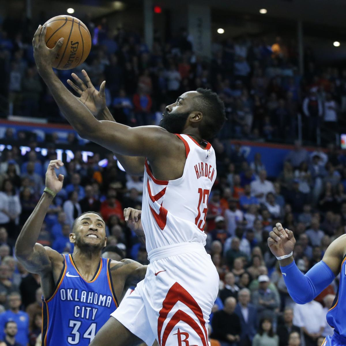 James Harden In Okc: James Harden, Rockets Shred Russell Westbrook And Thunder