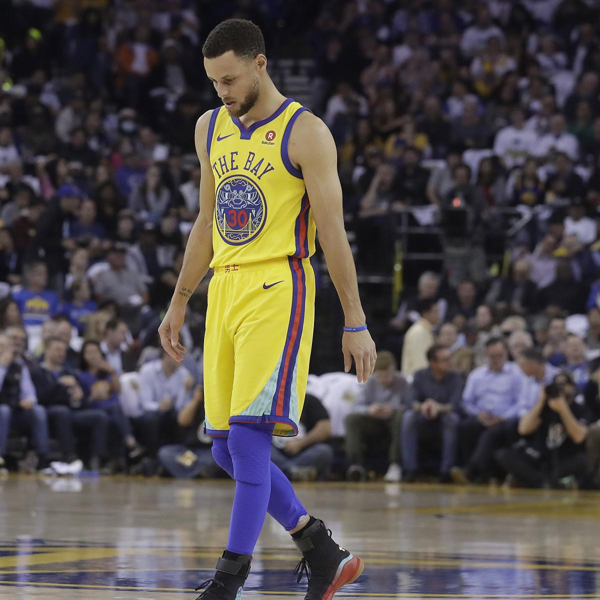 Portland Blazers Game: Stephen Curry To Sit Out Vs. Trail Blazers, Timberwolves