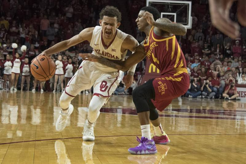 Selection sunday 2018 start time tv schedule and bubble teams to norman ok march 2 trae young 11 of the oklahoma sooners drives publicscrutiny Images