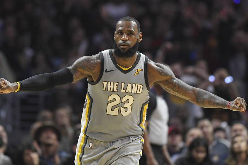 58b3f88fb438 LeBron James is considering the Cavs and three other teams for the 2018-19  season