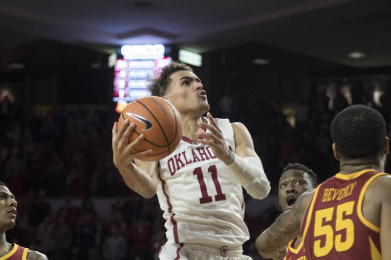 March madness 2018 bracket predictions odds tips for 1st round norman ok march 2 trae young 11 of the oklahoma sooners shoots publicscrutiny Images