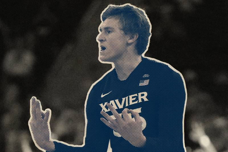 48a34fe05d6 Xavier s J.P. Macura  NCAA s Top Trash-Talker Also Has One of Its ...