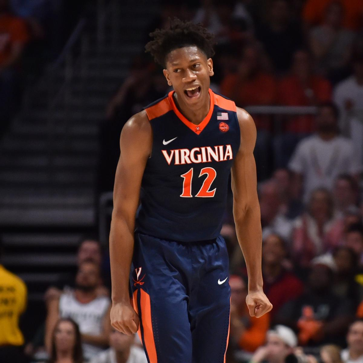 Virginia's DeAndre Hunter to Miss NCAA Tournament After Suffering Wrist Injury | Bleacher Report ...