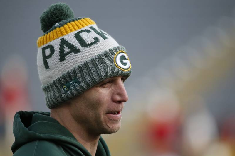 23866da50 Green Bay Packers  Jordy Nelson warms up before an NFL football game  against the Tampa