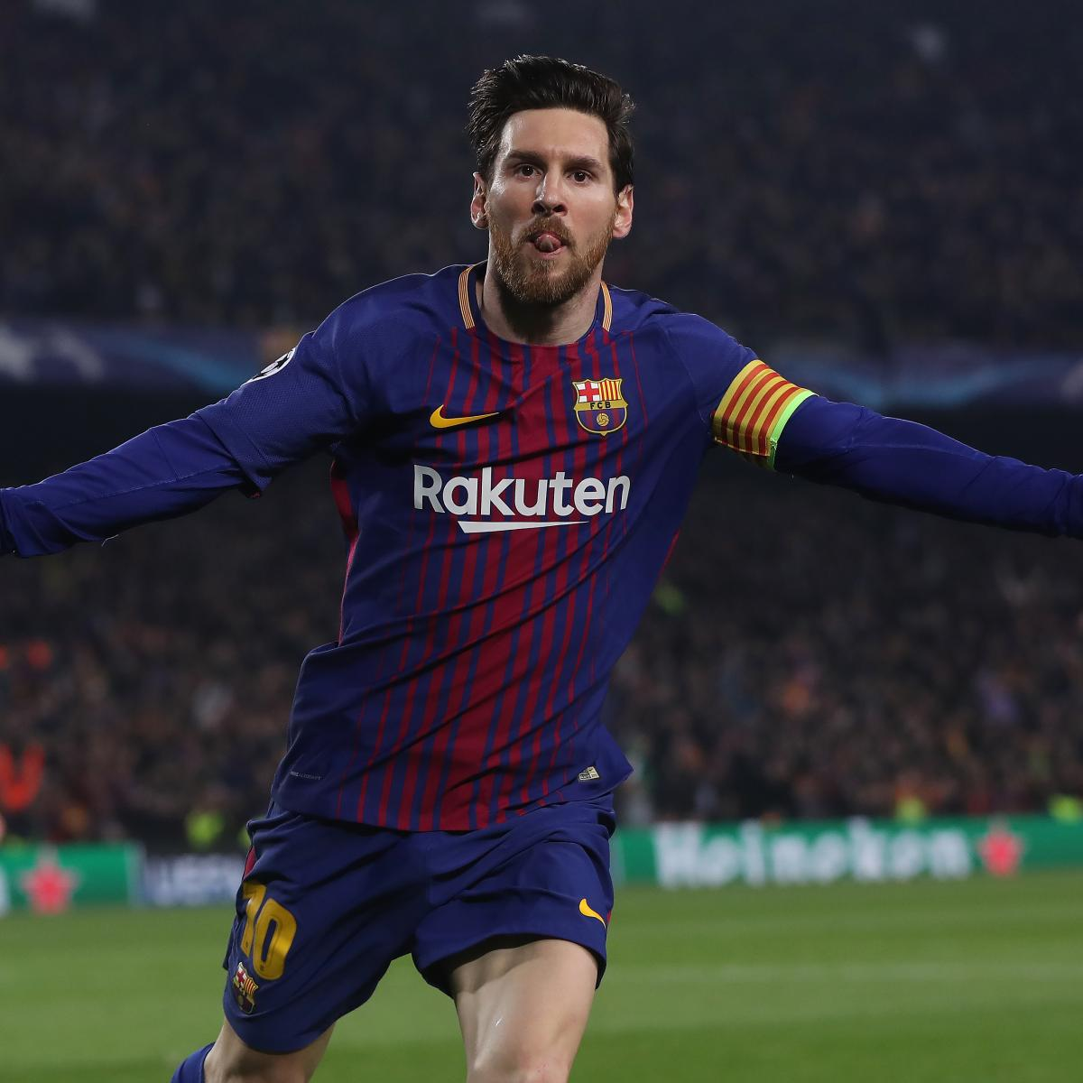 Liverpool Fc 4 0 Barcelona International Champions Cup: Lionel Messi Scores 100th Career Champions League Goal In