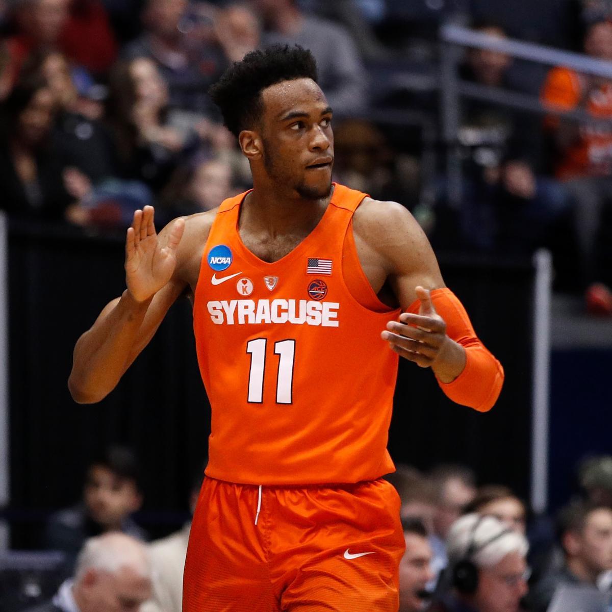 Oshae Brissett Leads Syracuse to Comeback Win vs. ASU in 2018 NCAA Tournament | Bleacher Report ...