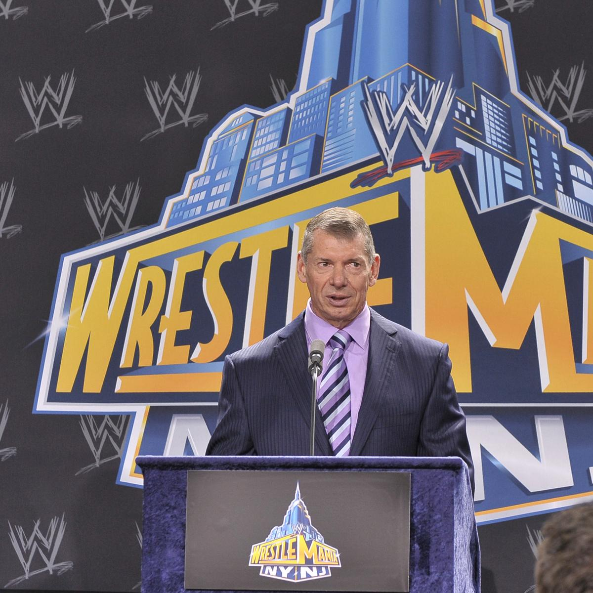 Report: WWE WrestleMania 35 to Be Held at MetLife Stadium in New Jersey