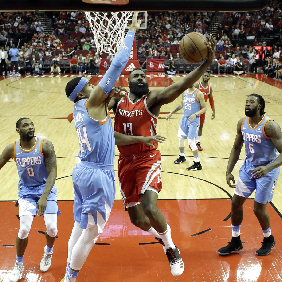James Harden Quadruple Team: James Harden, Chris Paul Lead Rockets To 101-96 Win Over