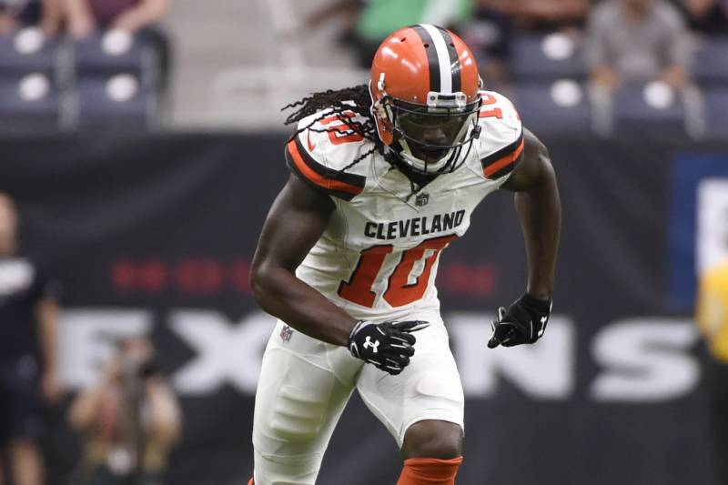 premium selection 6e6b0 67bdf Sammie Coates Reportedly Claimed by Texans After Browns ...