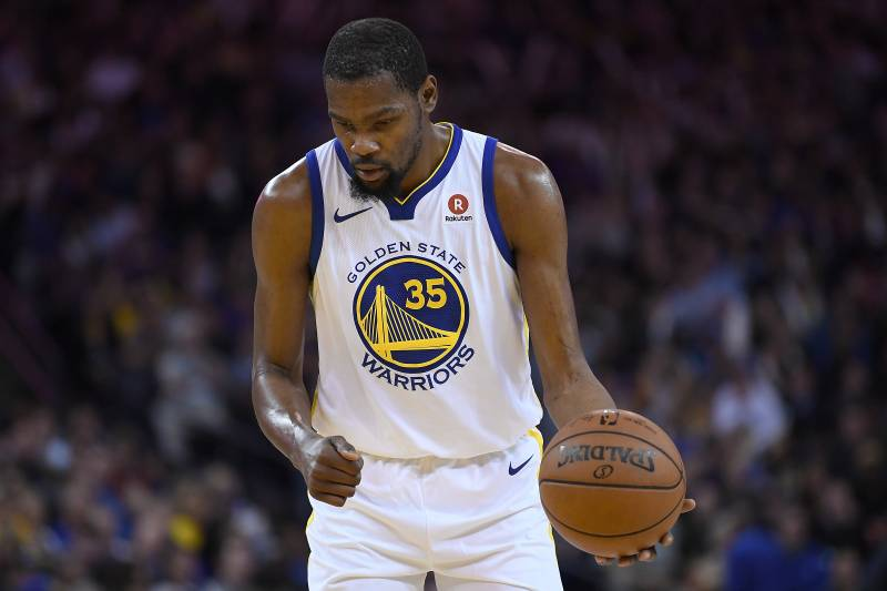 fe97c951605 Warriors News  Kevin Durant Exits vs. Suns After Suffering Ankle ...