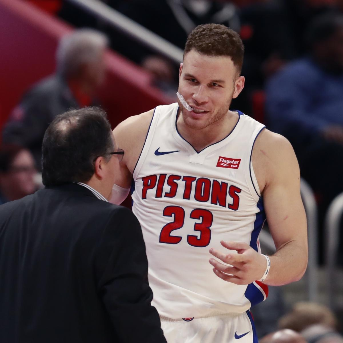 ab8ea652343 Blake Griffin Rips Clippers: Pistons Made Me Realize What a Franchise Looks  Like | Bleacher Report | Latest News, Videos and Highlights