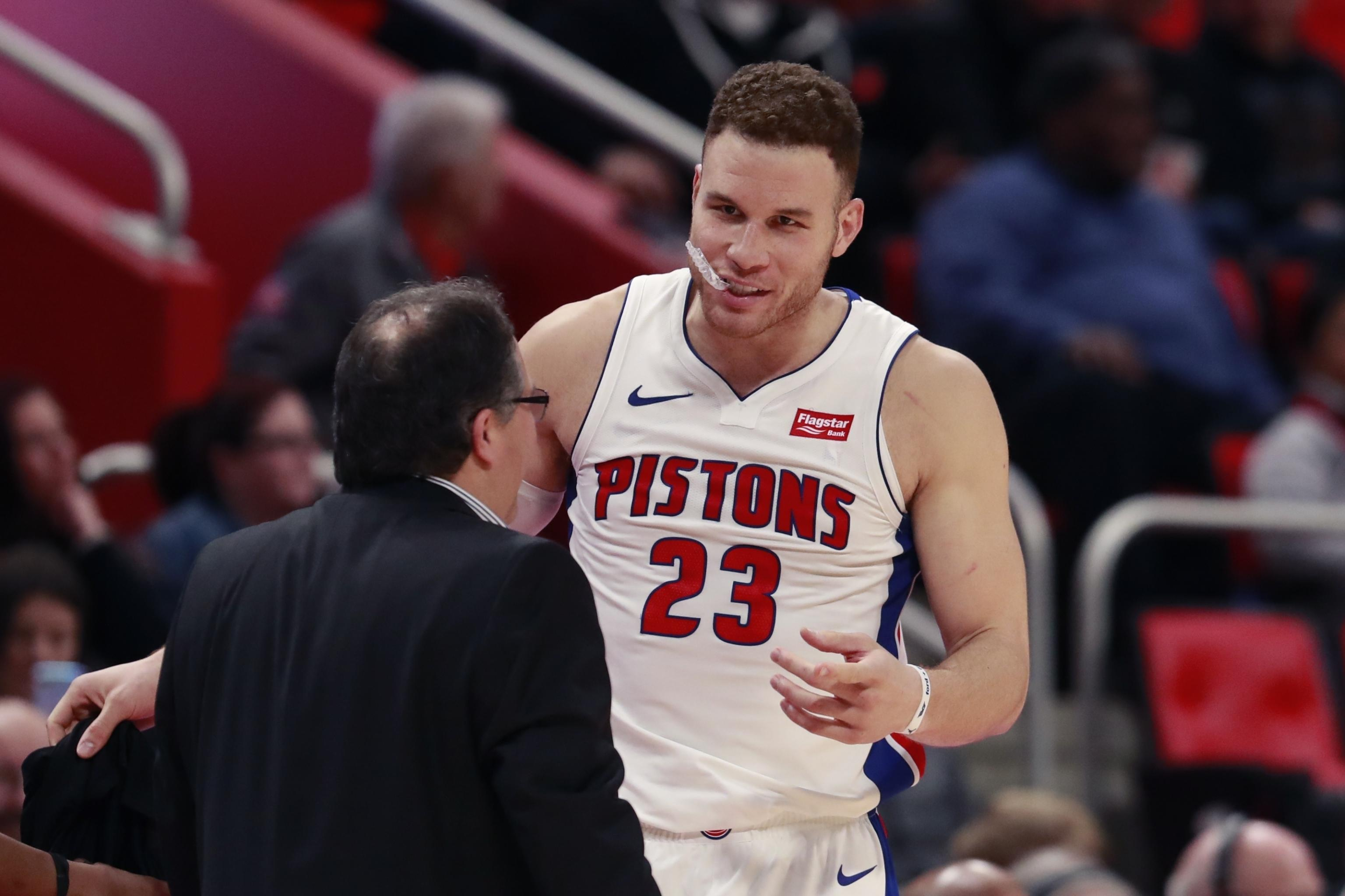 reputable site 75a49 e6a6f Blake Griffin Rips Clippers: Pistons Made Me Realize What a ...