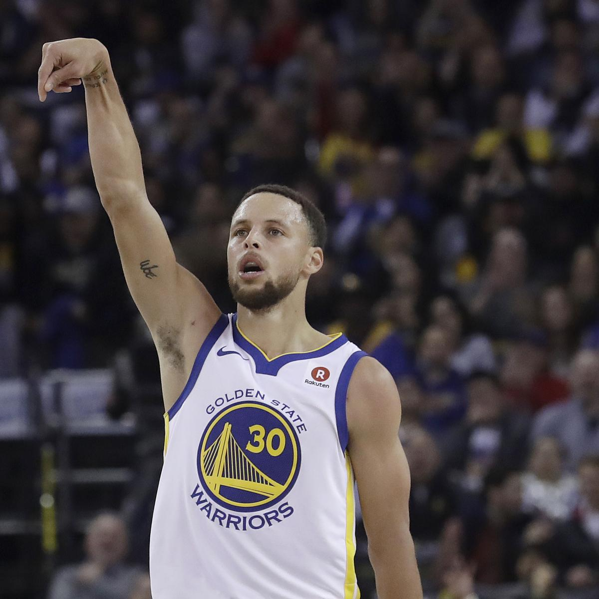 Warriors Record Without Stephen Curry 2017: Warriors Rumors: Latest Buzz Surrounding Stephen Curry's