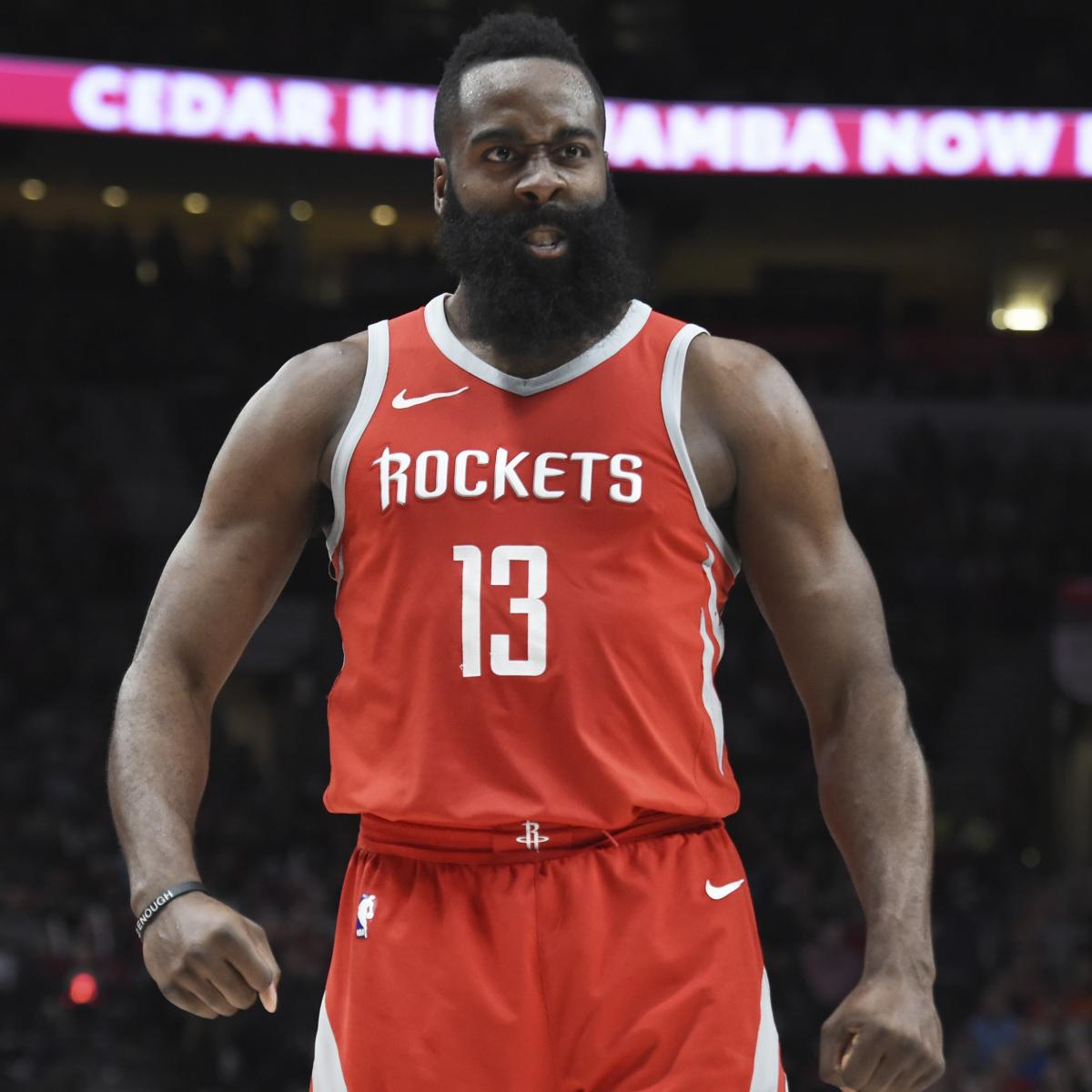 Houston Rockets Game Log: James Harden Drops 42 As Rockets End Damian Lillard, Trail