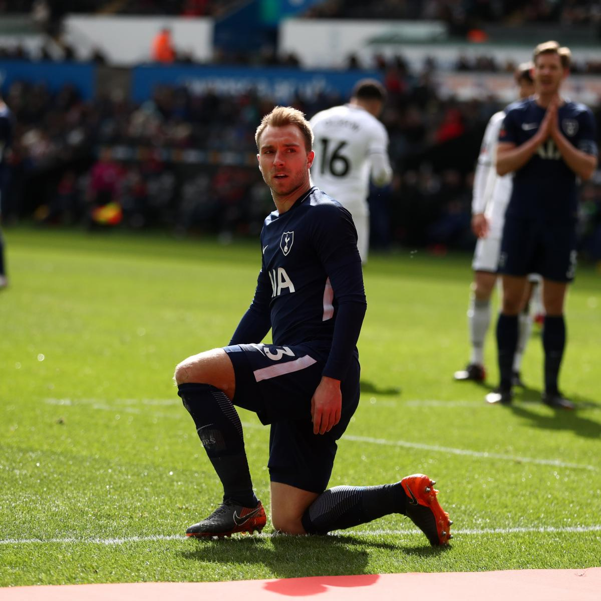 Christian Eriksen Insists He Is 'Very Happy' At Tottenham
