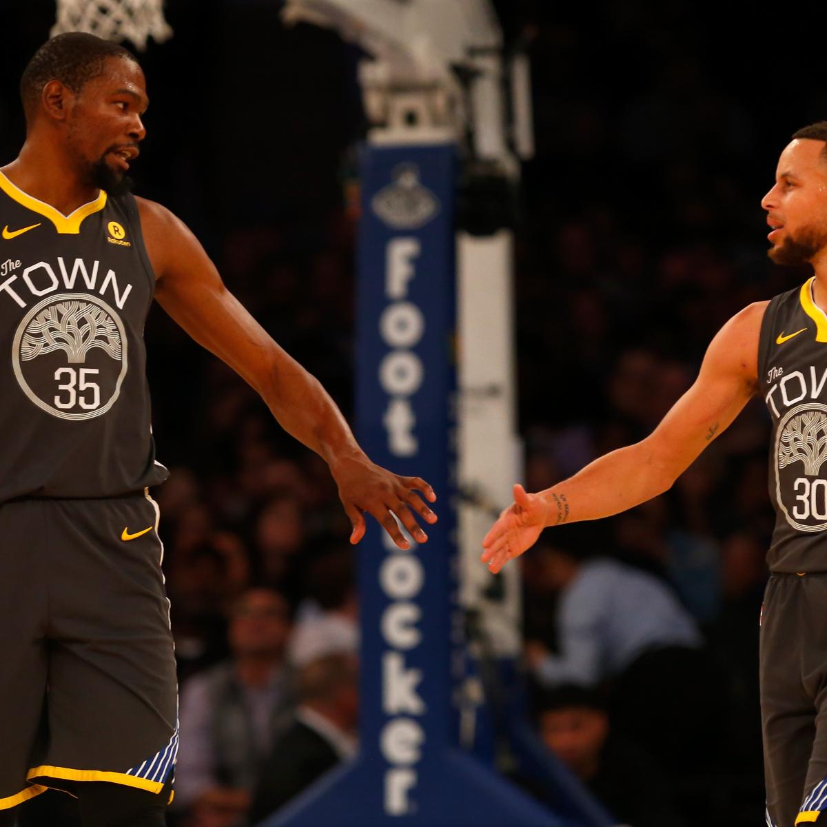 Warriors Come Out To Play Bleacher Report: Warriors GM Gives Injury Updates On Stephen Curry, Kevin