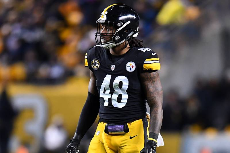 free shipping a7a28 f602d Steelers Rumored to Exercise Bud Dupree's 5th-Year Contract ...