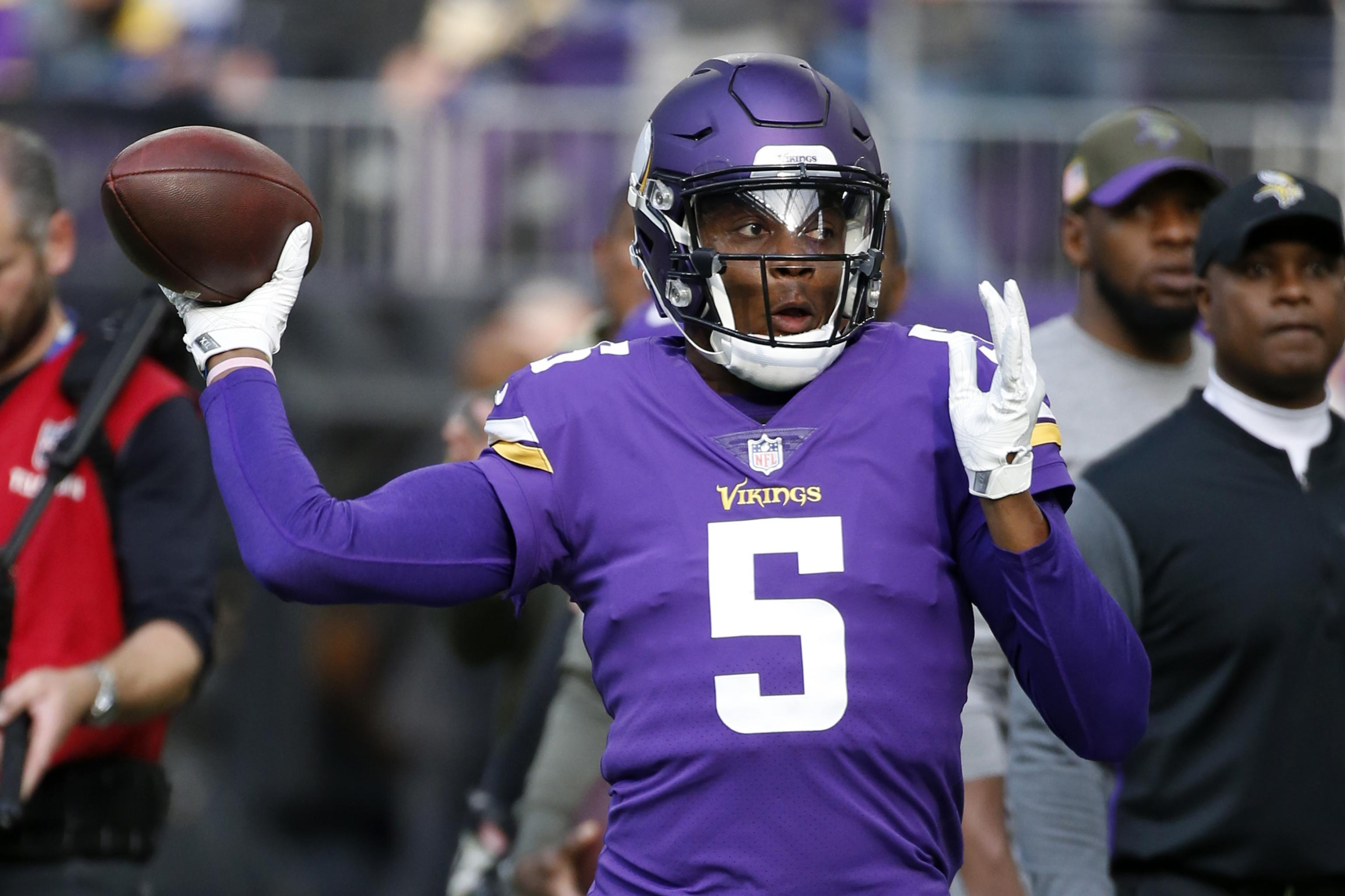 low priced fe753 f22a5 Teddy Bridgewater After Signing Jets Contract: 'I Welcome ...