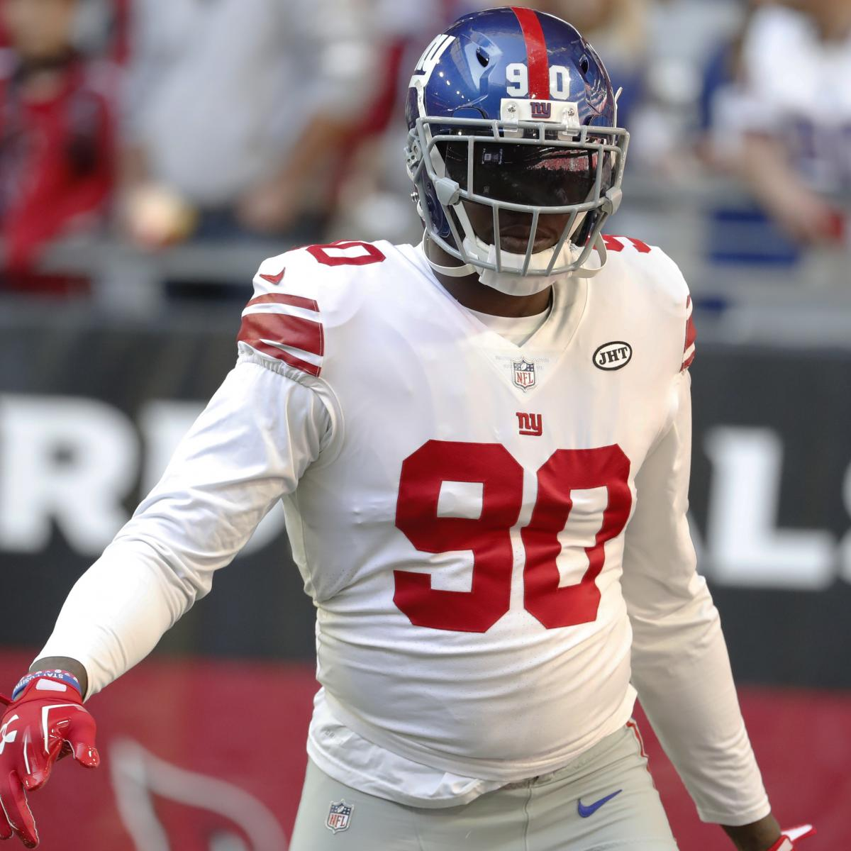 Jason Pierre Paul Pictures: Report: Jason Pierre-Paul Traded From Giants To Bucs For