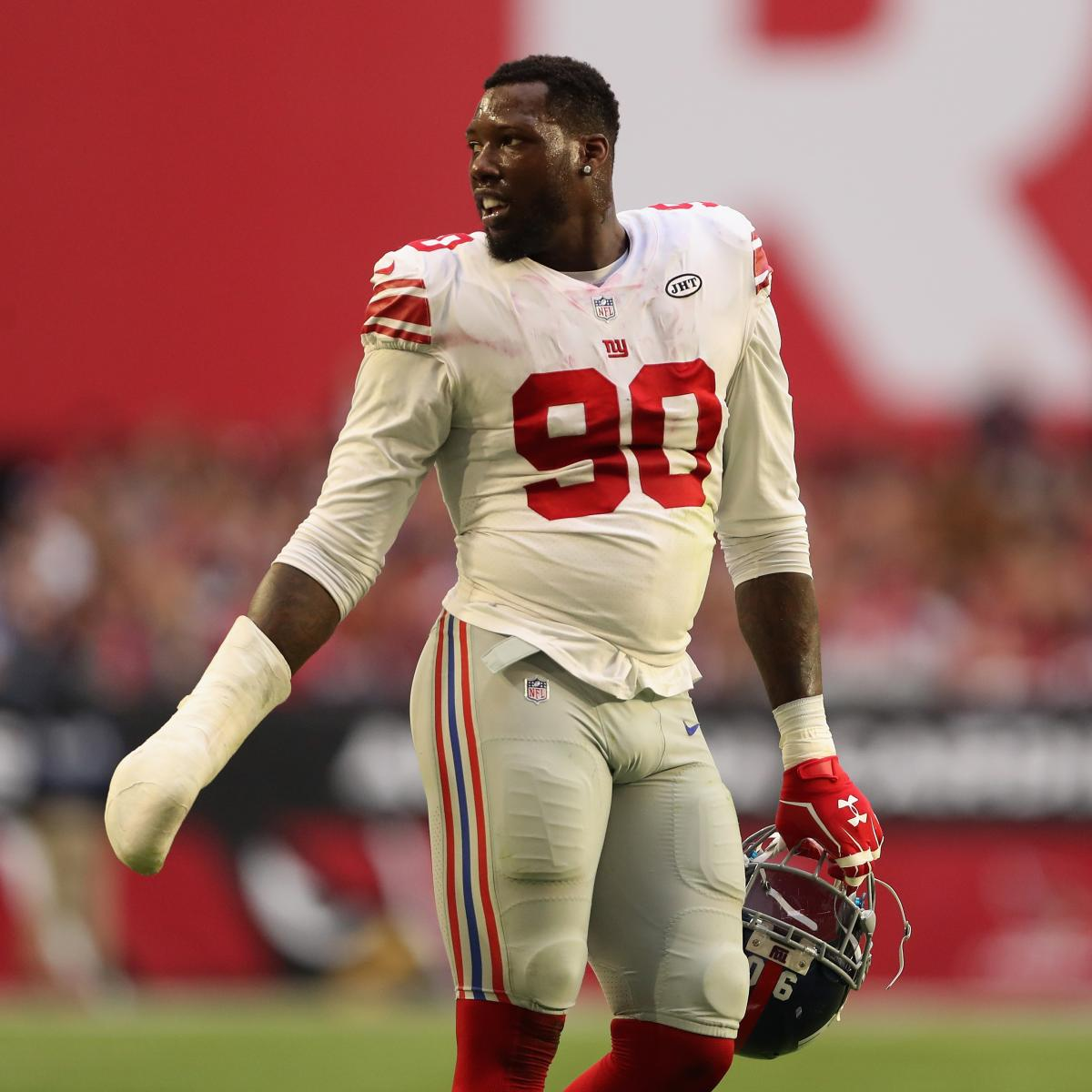 Jason Pierre Paul Pictures: Jason Pierre-Paul Trade Ends Another Giants Era, And