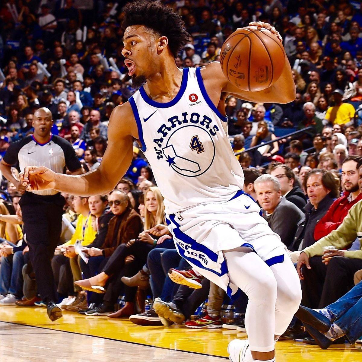 Warriors Come Out To Play Bleacher Report: Stephen Curry's Message To Backup Quinn Cook: 'You Better