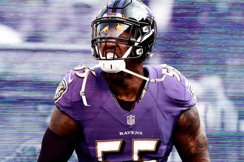 3080b174eb1 'I Signed Up for This': Terrell Suggs Isn't Letting a Changing NFL Change  Him