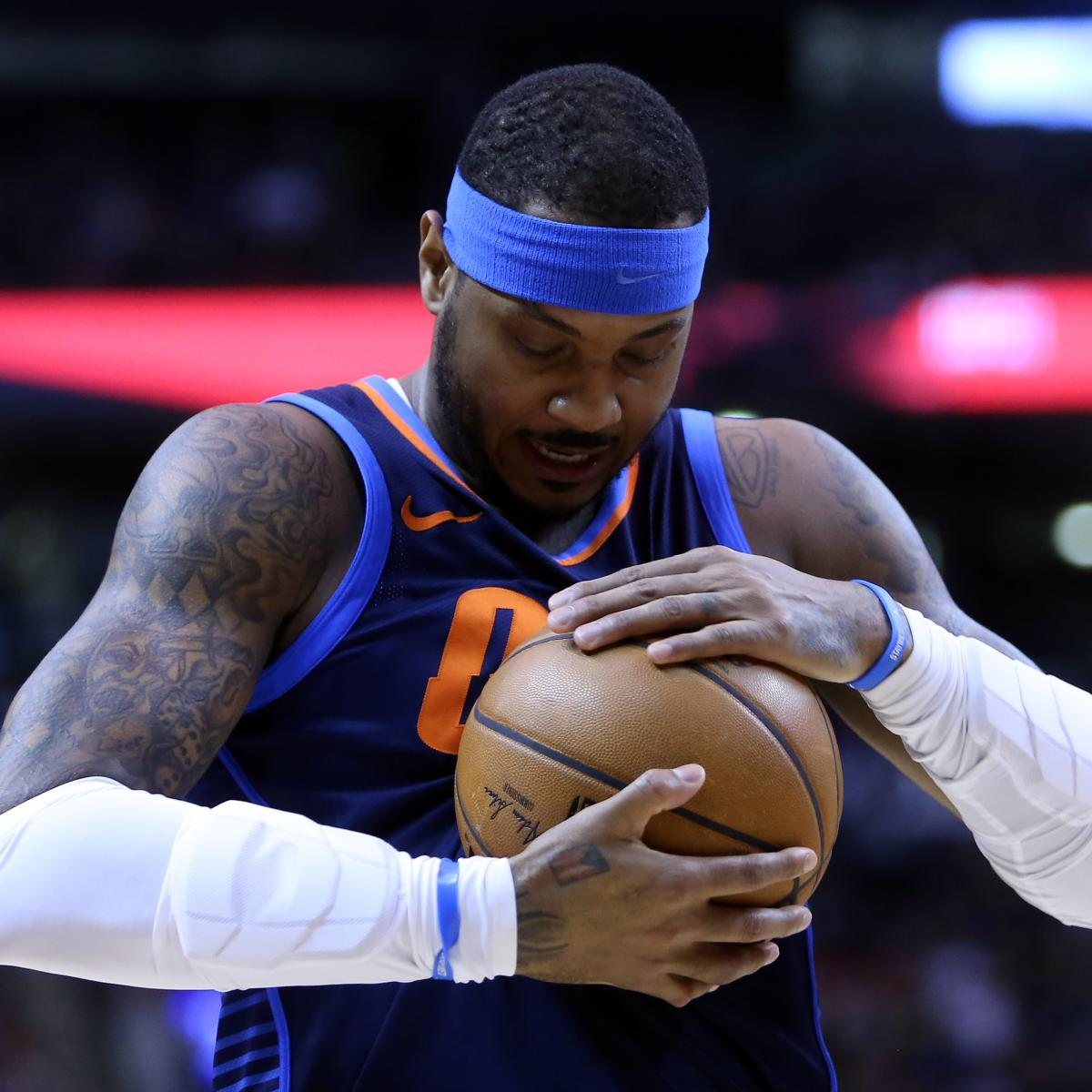 okc thunders carmelo anthony problem is more perception