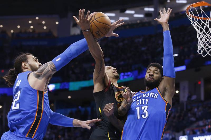 3c0bff68aaf Paul George Thought Steven Adams Was  Cocky