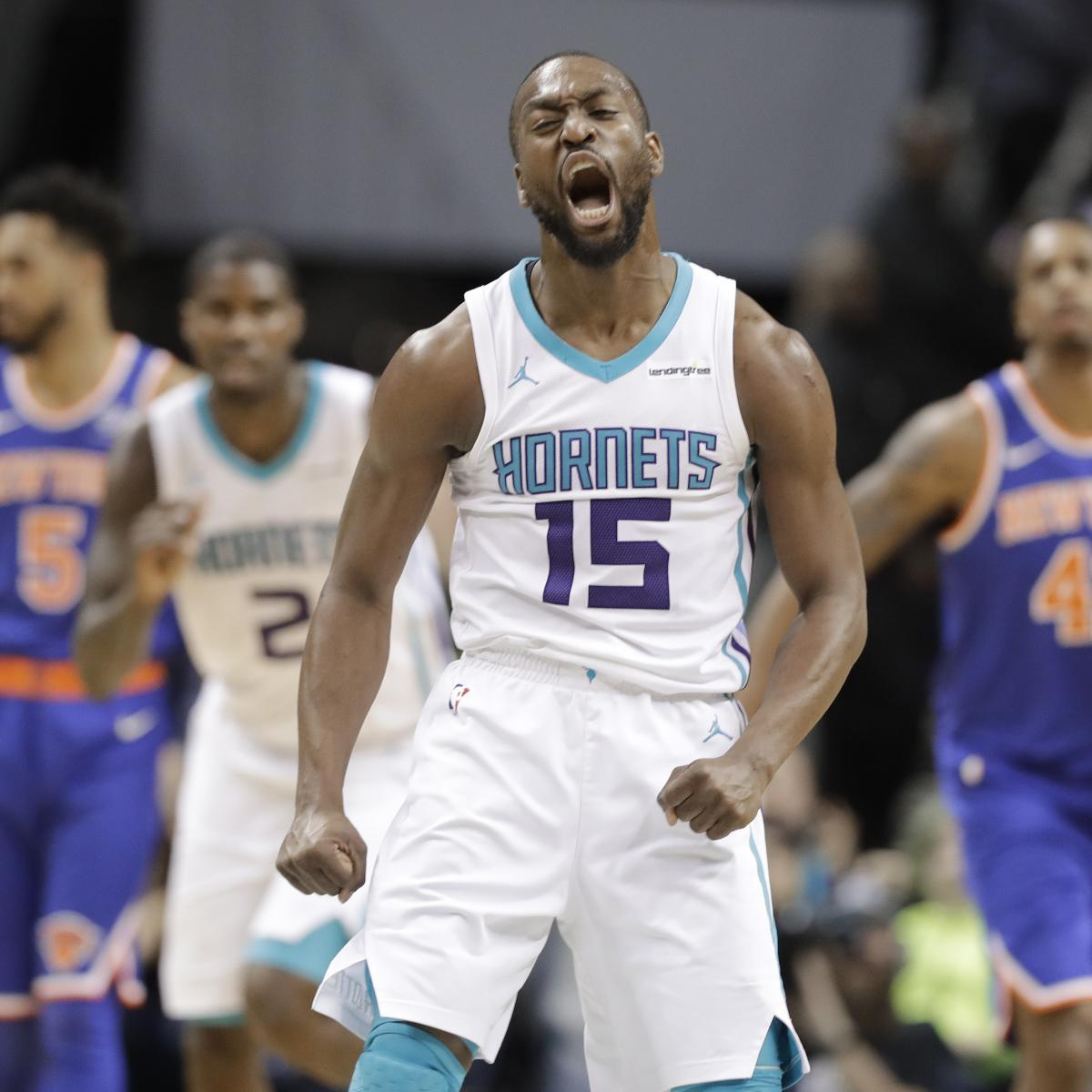 Michael Jordan Praises Kemba Walker for Becoming Hornets ...