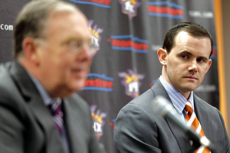 0aac0a2de Suns GM Ryan McDonough  Team Willing to Spend on High-Profile Head ...