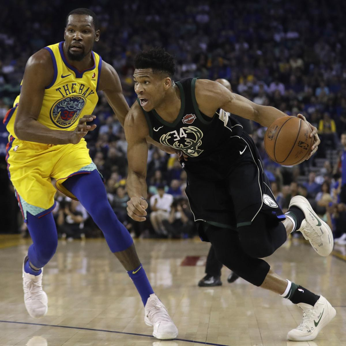 Warriors Come Out To Play Bleacher Report: Giannis Antetokounmpo, Bucks Beat Injury-Depleted Warriors
