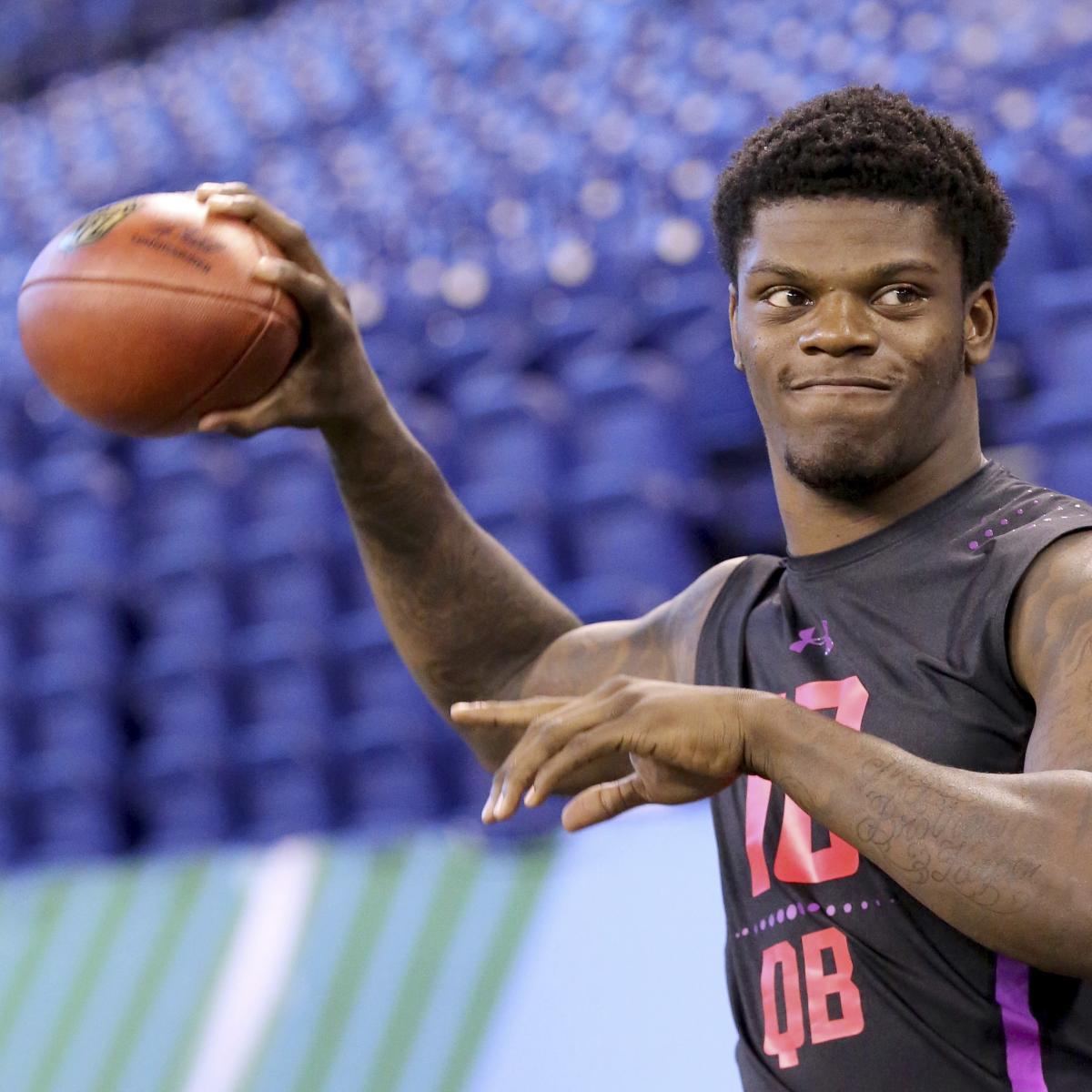 Lamar Jackson Rumors: QB's 2018 NFL Draft Stock 'Continues