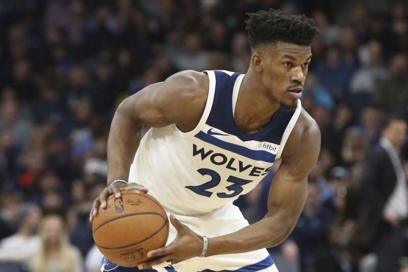 Jimmy Butler Took Part In Timberwolves Practice For 1st Time Since