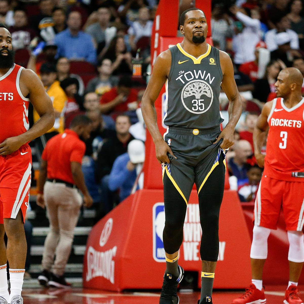 NBA Playoff Standings 2018: Updated Bracket, Matchups That