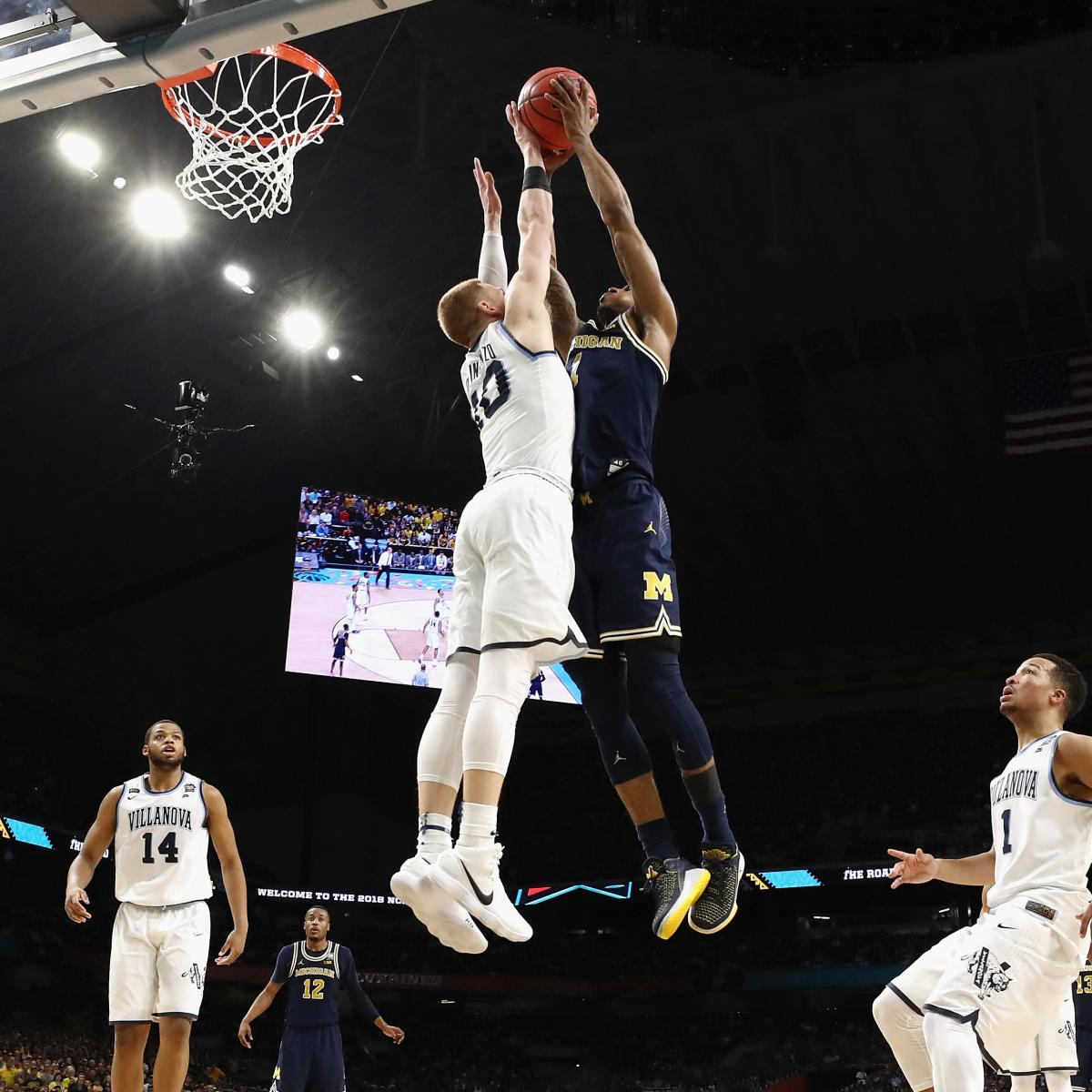 Donte DiVincenzo Somehow Blocks Charles Matthews' Dunk