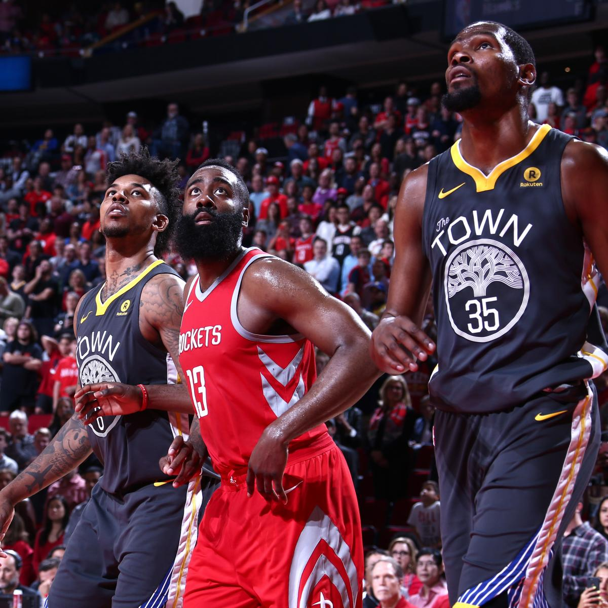 James Harden Yearly Stats: Kevin Durant Picks James Harden Over LeBron James To Win