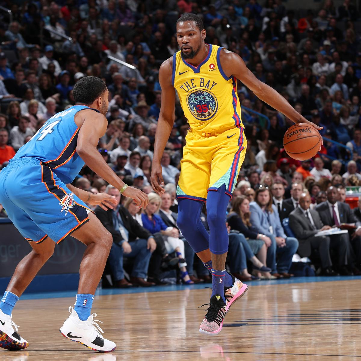 Warriors Come Out To Play Bleacher Report: Kevin Durant Outduels Russell Westbrook As Warriors Beat